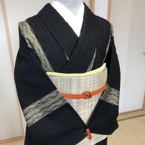 新田秀次作米沢紬