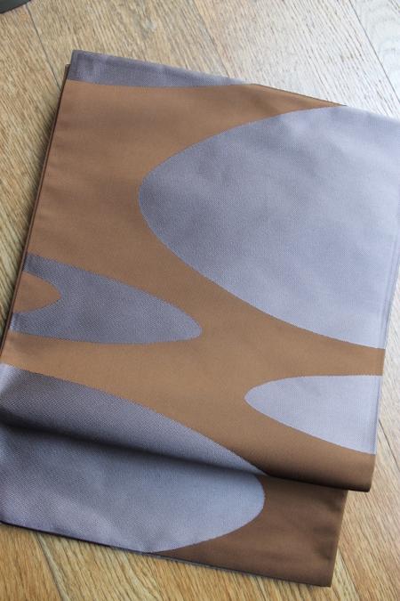 流水文袋帯