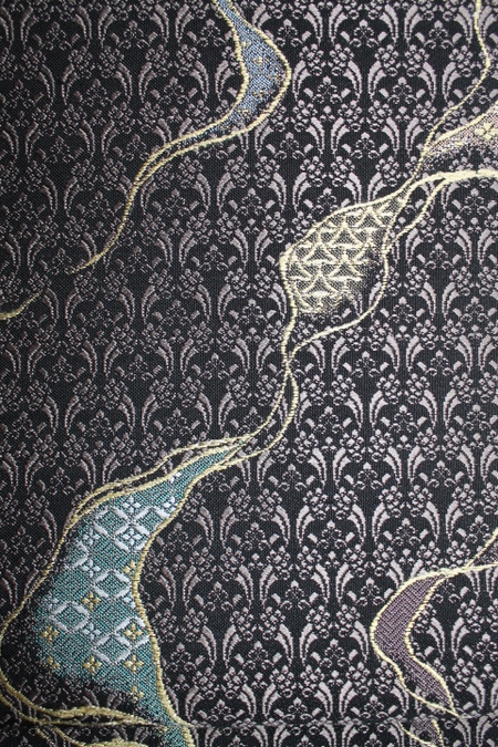 茶色地袋帯