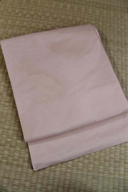 ピンク夏帯